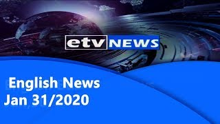 English News Jan 31/2020