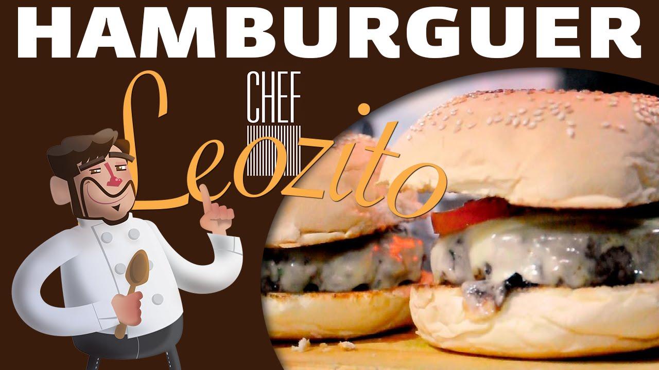 Hambúrguer – Chef Leozito e Cia #1