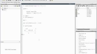 Matlab Essential Skills Sect 41 Indefinite and Definite Integrals