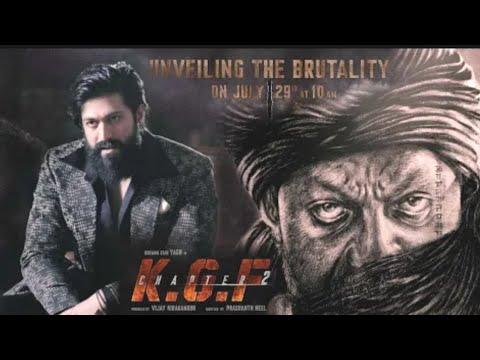 KGF Chapter 2: KGF 2, Sanjay Dutt, Yash, Prashant Neel, KGF 2 New Look Teaser, KGF 2 Trailer,Update