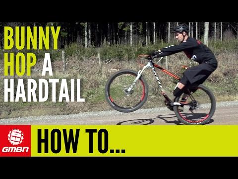 How To Bunny Hop A Hardtail Mountain Bike | Essential MTB Skills (видео)