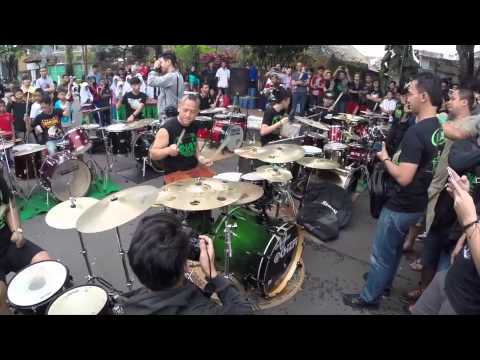 Ahay Drum with Sukabumi Drummer