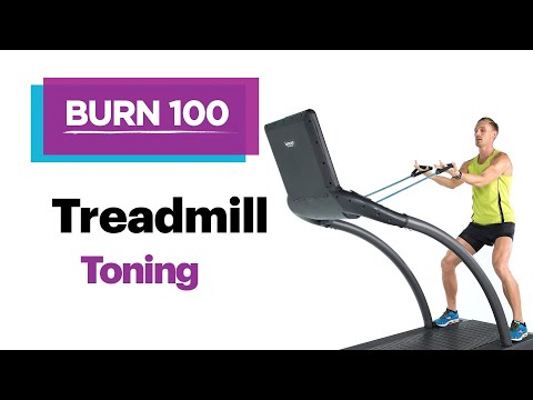 Treadmill Cardio & Resistance–Quick & Easy At-Home Workout Routine–SELF's Burn 100 Calories