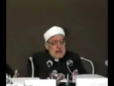 الأمة الإسلامية ليس لها صديق إلا الله: مقطع مؤثر للشيخ الغزالي / الجزائر 1990