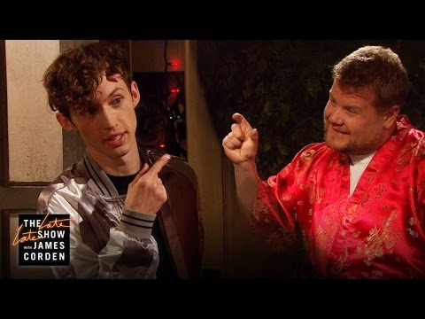 James Corden Crashes Troye Sivan's Party!