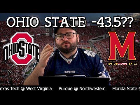 Ohio State vs Maryland College Football Bets - Maryland Terrapins Ohio State Buckeyes NCAA Betting