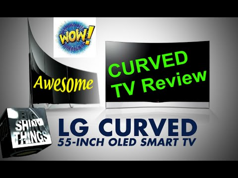 LG 55EC9300 55 Inch Curved OLED TV review