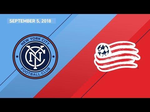 HIGHLIGHTS: New York City FC vs. New England Revolution | September 5, 2018
