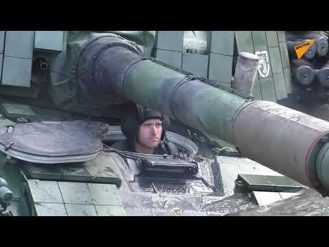Польские танкисты опозорились, «воюя с русскими»