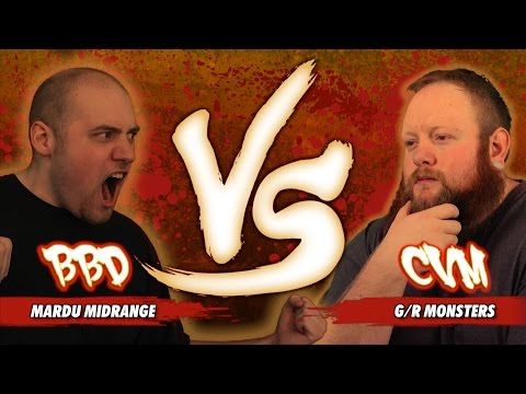 R - Can the Mardu Horde defeat the swarm of G/R Monsters? BBD and CVM battle it out for another VS Video! Decklists here: ...