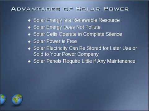 Advantages & Disadvantages of Solar Power
