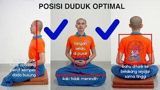 Video Panduan Meditasi #02 - Postur Duduk | Asyik Bervipassana: Y.M. Bhikkhu Gunasiri MP3, 3GP, MP4, WEBM, AVI, FLV November 2017