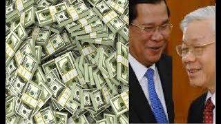 Nguyễn Phú Trọng bòn rút công quý để làm qua cho Hun Sen