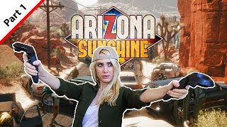 "Today we are going to play some Arizona Sunshine. If you like the ""Walking Dead"" TV series you will really enjoy this game! Enjoy the Zombie Carnage :) Please subscribe and hit the like button to see more of my videos!www.VrLabsTV.comhttps://twitter.com/VR_Labs_TVFollow us on Twitter for more VR News, and Gameplay"