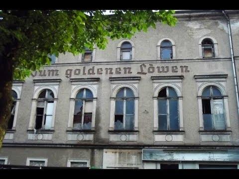 Lost Place - Gasthof `Zum Goldenen Löwen´  im August 2013