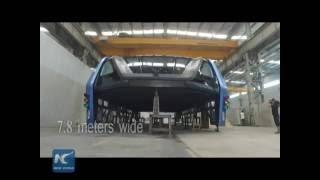 TEB Straddling Bus - China