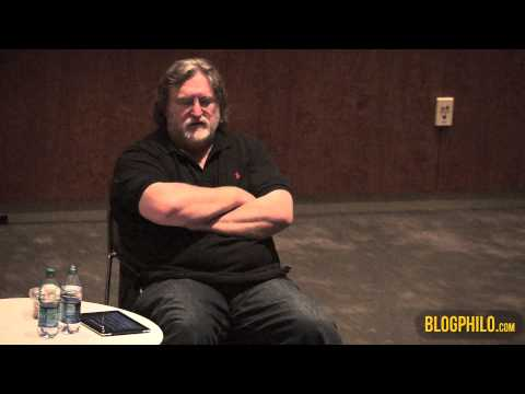 Valve software - Gabe Newell, head of Valve Software, gives a talk on productivity, economics, political institutions, and the future of corporations on January 30, 2013 at t...