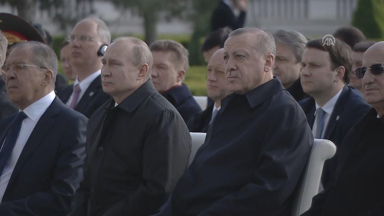 Πούτιν και Ερντογάν στην τελετή θεμελίωσης για το πυρηνικό εργοστάσιο του Ακούγιου στην Τουρκία