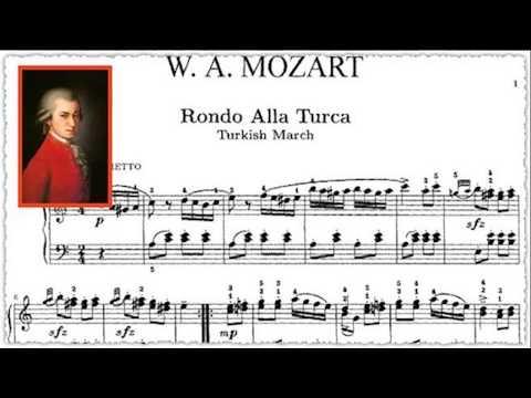 MOZART, TÜRK MARŞI Caz Versiyonu Piyano Müziği Turkish March-Rondo Alla Turca