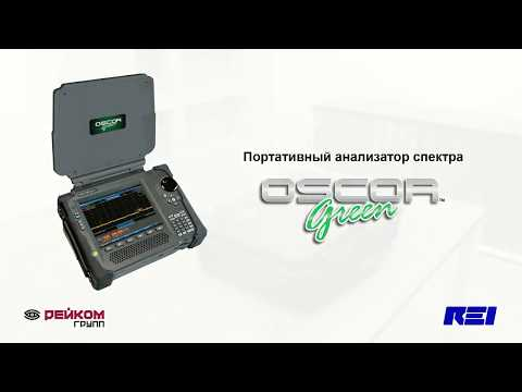 Видеообзор анализатора спектра OSCOR Green OGR-24