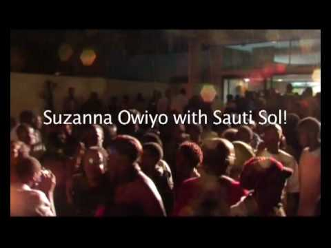 SUZANNA OWIYO with SAUTI SOL LIVE collabo__