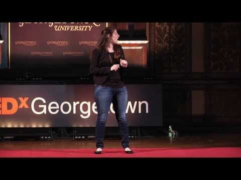 Not the hearing or Deaf world | Heather Artinian | TEDxGeorgetown