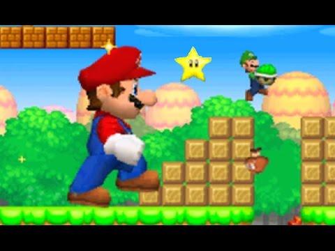 New Super Mario Bros. DS - Mario Vs. Luigi Mode #3 (All Courses) (видео)
