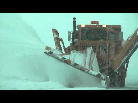 Snow Removal - Watch as the snow removal crew at Wittman Regional Airport in Oshkosh, WI battles historic Blizzard Draco. Special thanks to Wittman Regional Airport directo...