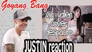 Via Vallen - Despacito Dangdut Koplo Cover Version REACTION JUSTIN