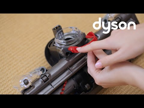 Dyson DC40 and DC41 upright vacuums - Replacing the C-clip (UK)