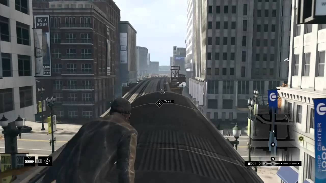 [Watch_Dogs] Riding the Train