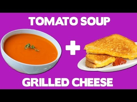 Tomato Soup Grilled Cheese Recipe – Food Mashups