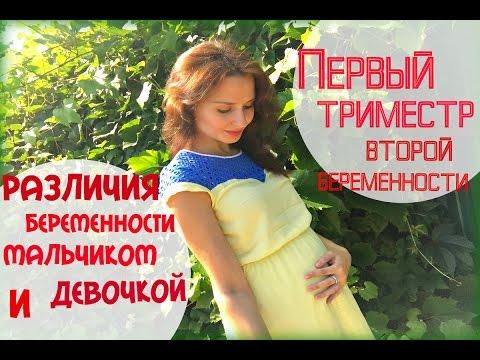 Мальчики девочка отличия при беременности