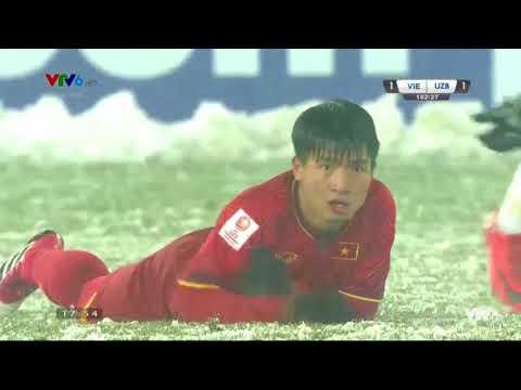 U23 Việt Nam vs U23 Uzbekistan | Chung Kết U23 Châu Á 2018 | Hiệp 2 - Thời lượng: 35 phút.