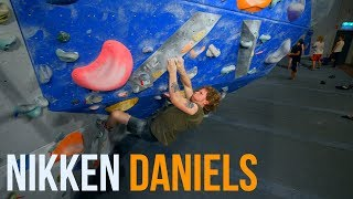 MATCHING GNARLY CRIMPS - With Nikken Daniels by Eric Karlsson Bouldering