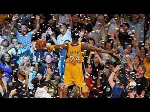 kobe bryant - top 10 plays