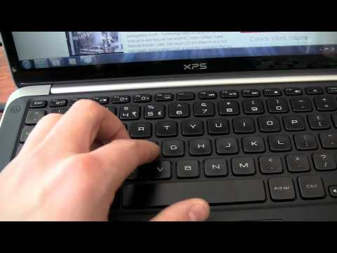 dell xps 13 ultrabook - The Dell XPS 13 is a neat ultrabook and we take a look at this thing with our camera.