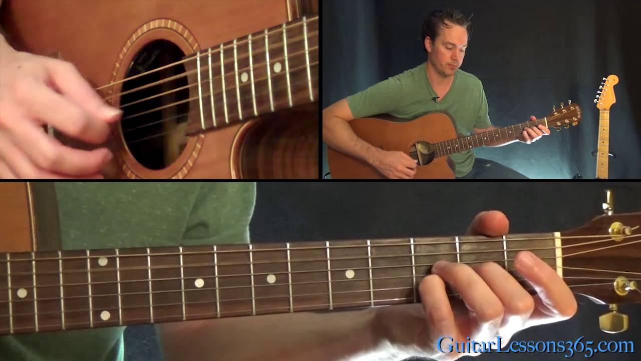 Teardrop Guitar Lesson – Massive Attack – Acoustic