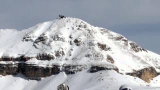 Sass Pordoi, la terrazza delle Dolomiti