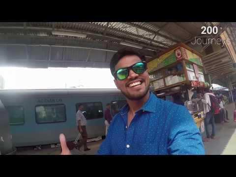 Mumbai Ahmedabad Shatabdi Express Full Journey (видео)