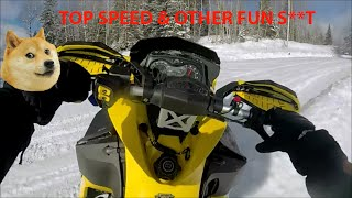 3. SKIDOO 600 TOP SPEED & OTHER FUN S**T