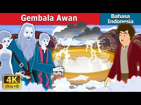 Gembala Awan | The Shepherd of the Clouds | Dongeng Bahasa Indonesia