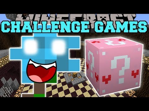 Minecraft: EVIL FLOWER CHALLENGE GAMES - Lucky Block Mod - Modded Mini-Game