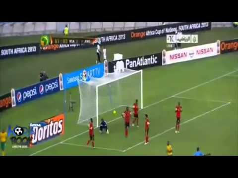 Can 2013 :  South Africa vs Angola 2-0 All Goals & HighLights | 23.01.2013 Full HD