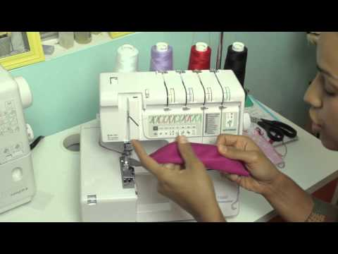 Serger Review: Janome 1100D Professional Serger