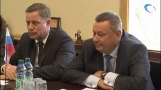 Новгородскую область посетил генеральный консул Государства Израиль в Санкт-Петербурге Михаэль Лотем