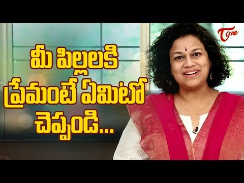 Teach Good Manners To Your Kids | Motivational Video | By Dr Purnima Nagaraja | TeluguOne