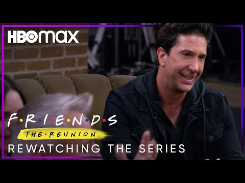 Friends: The Reunion   Rewatching the Series   HBO Max