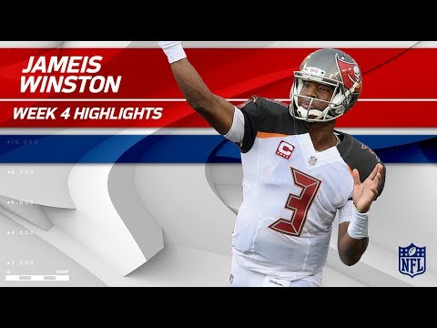 Video: Jameis Winston's Triple TD Day vs. New York! | Giants vs. Buccaneers | Wk 4 Player Highlights