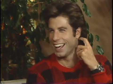 "John Travolta, Olivia Newton-John interview by Bobbie Wygant for the movie ""Two Of a Kind"" (1983)"